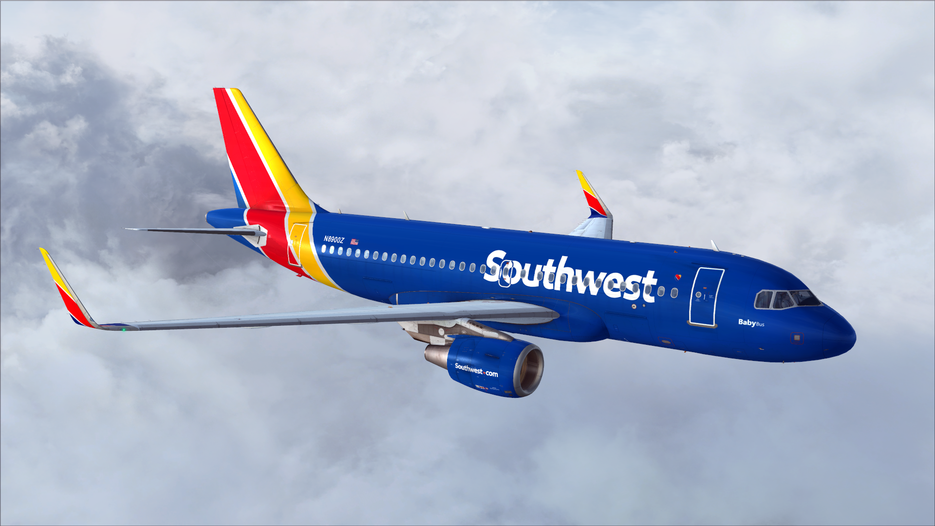 Southwest Airlines A320 There's got to be a southwest livery for 320 ...