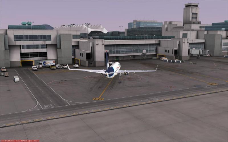 No jetways at FlightBeam KDEN - Airport Enhancement Services