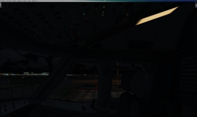 Dome light turns on, but doesn't illuminate the cockpit