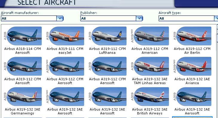 Aerosoft liveries not visible - Aircraft General - AEROSOFT