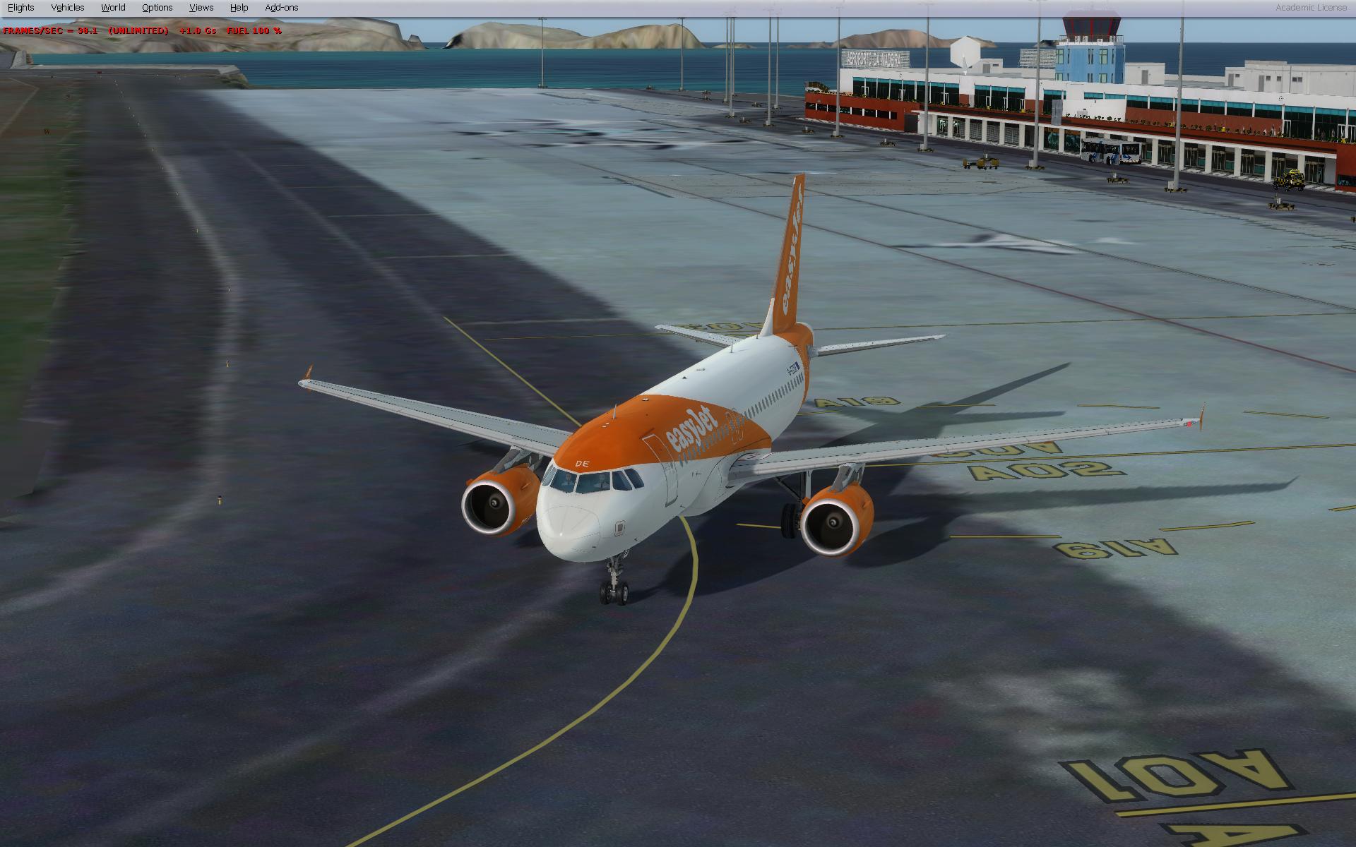 Madeira ground textures are blurry/broken (P3D v2 5) - Aerosoft