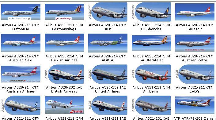 How to sort aircraft - Aircraft General - AEROSOFT COMMUNITY
