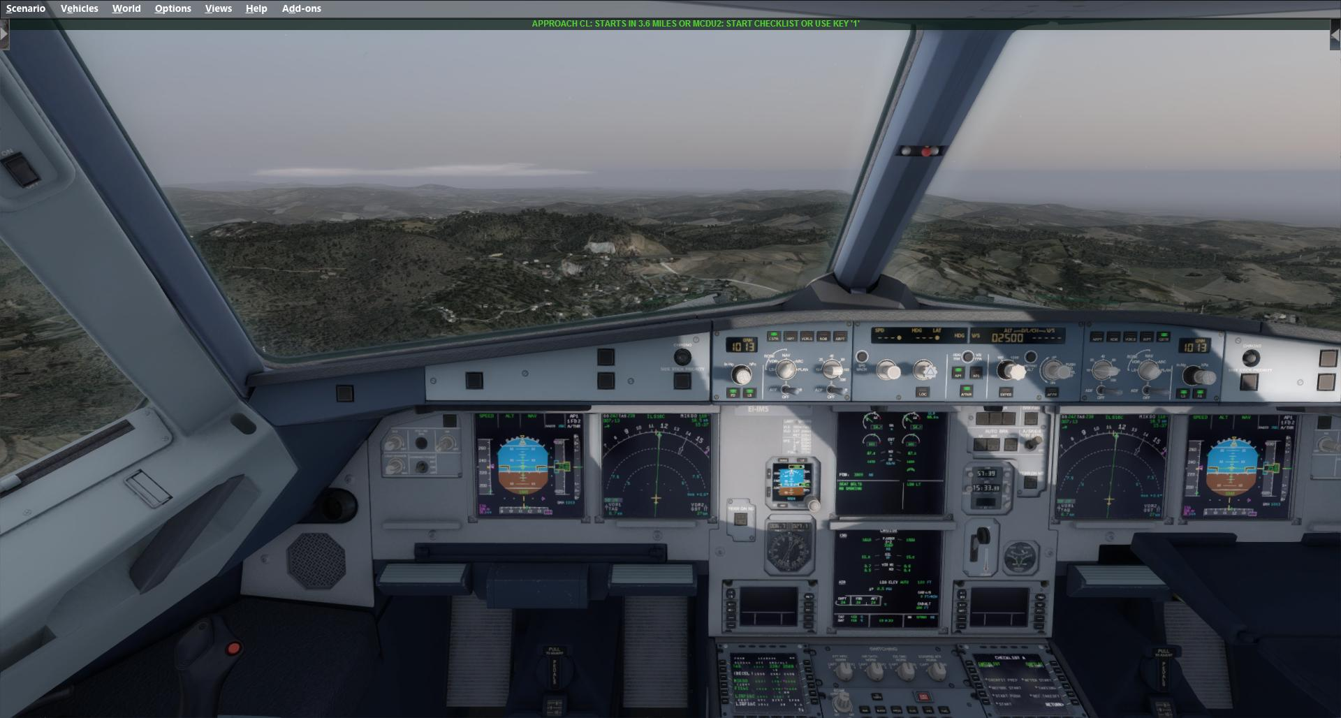 No GS to EKCH in P3D V3 - Auto Flight, Manual Flight - AEROSOFT