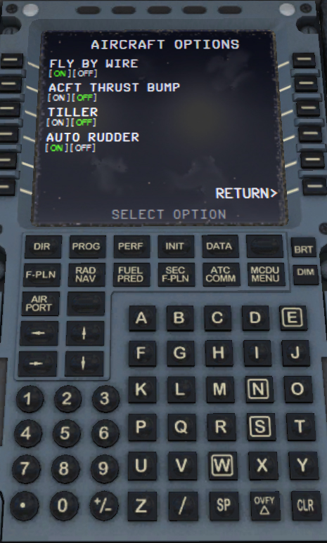 use rudder pedals - Auto Flight, Manual Flight - AEROSOFT COMMUNITY