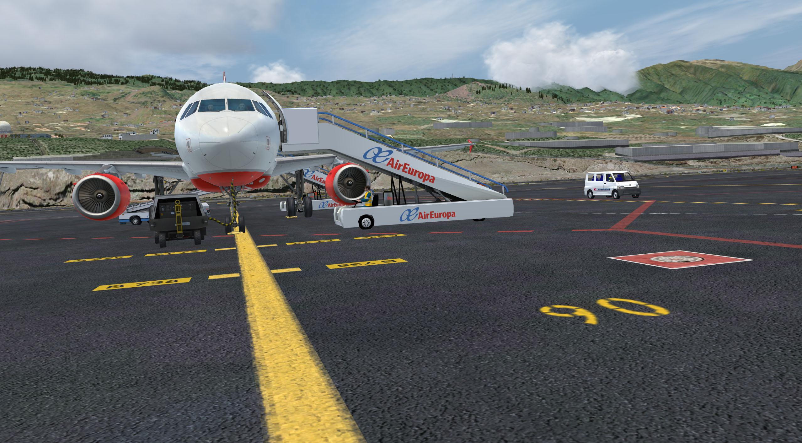 GSX @ GCLA and LPMA - solution - Aerosoft Scenery - AEROSOFT
