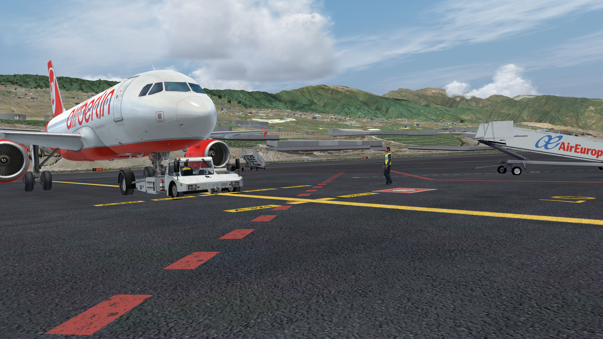 GSX @ GCLA and LPMA - solution - Aerosoft Scenery - AEROSOFT