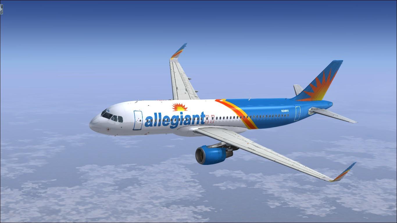 Airbus A320 CFM Sharklets Allegiant N246NV - Liveries / Repaints