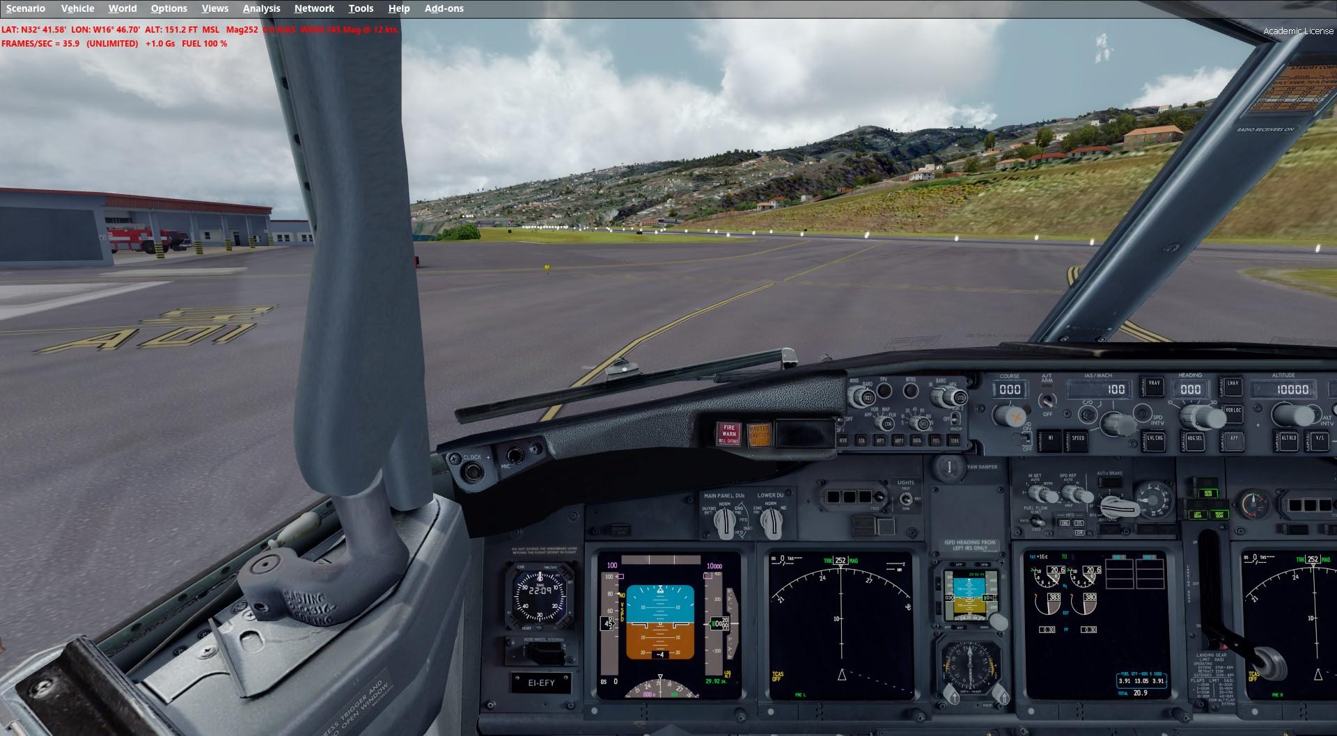 Madeira X Evolution and GSX issues - Aerosoft Scenery