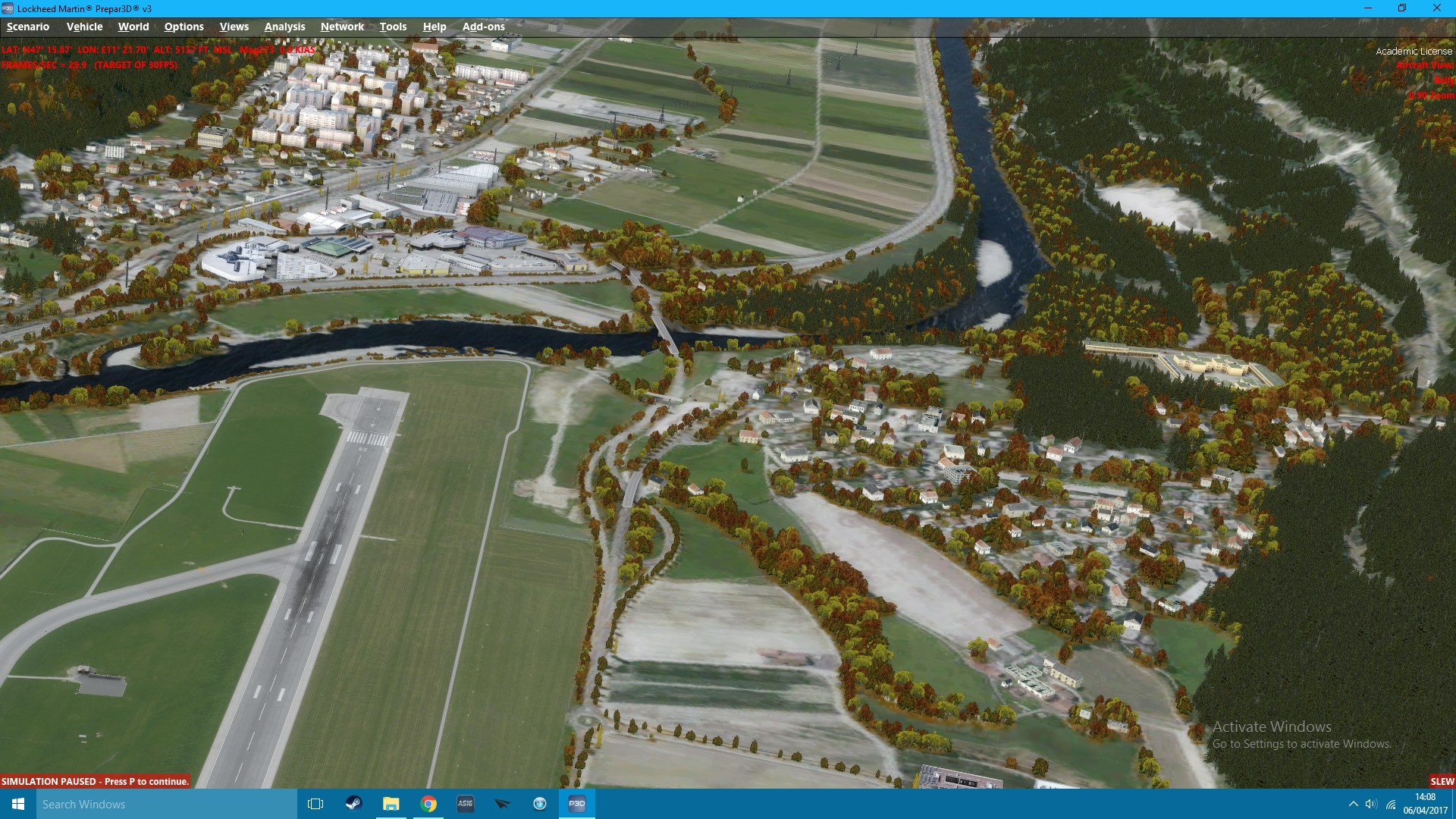 P3D V3 - Blurry ground/Terrain Issues With Orbx  - Hardware