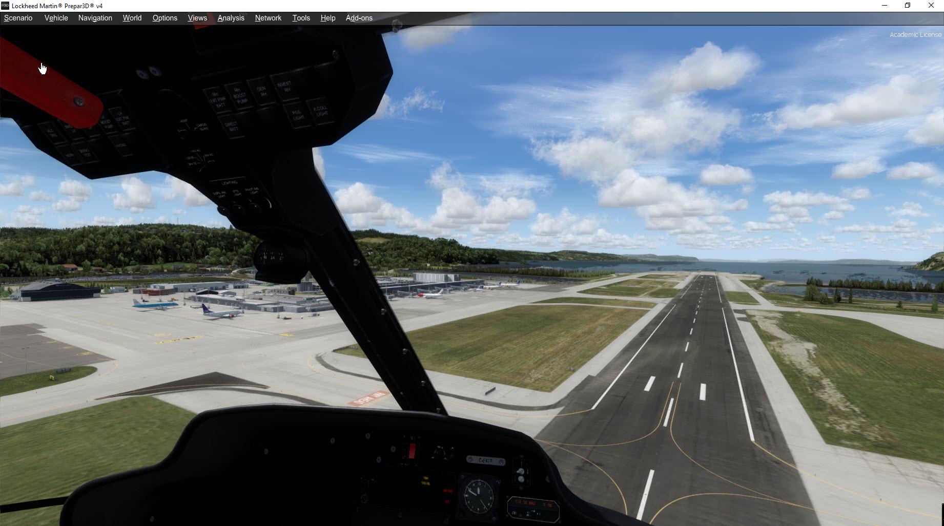 Trondheim not in Prepar3D scenery cfg - Aerosoft Scenery