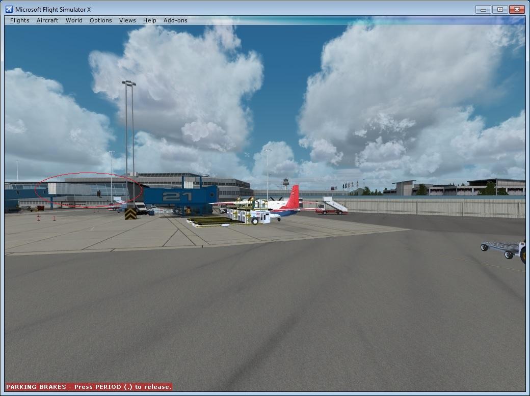 Bergen X Default Jetways Appearing - Aerosoft Scenery