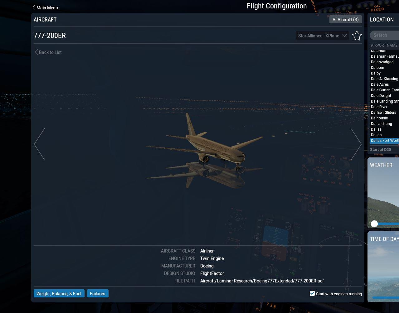FF777 - FlightFactor B777 / B757 / B767 / A350 /A320 - AEROSOFT