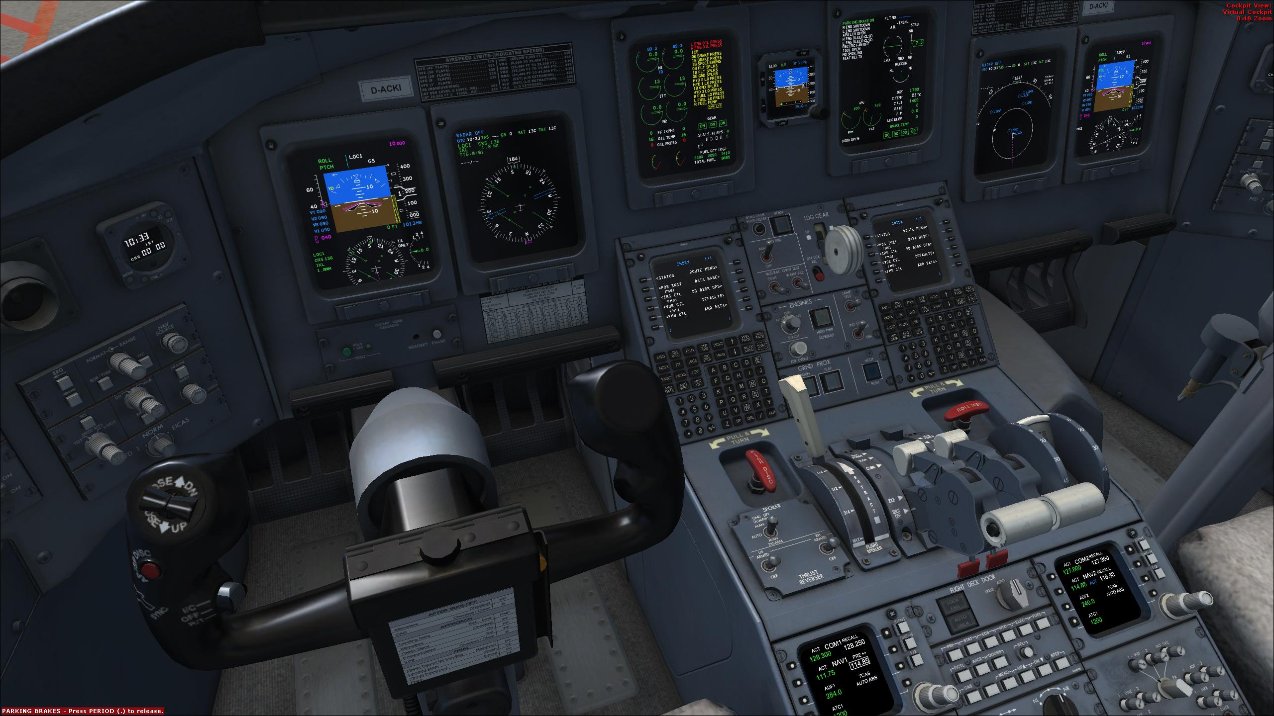 CRJ not reacting on ILS - Manual Flight, Autoflight and