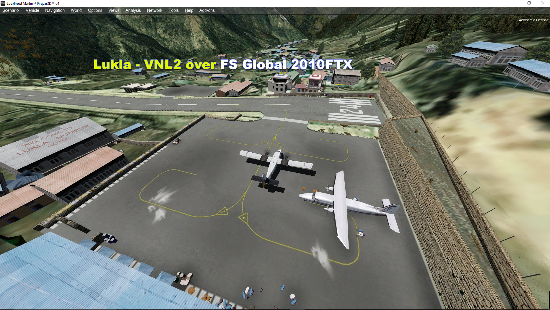 P3D V4 issues with Latest Lukla v230 - Aerosoft Scenery