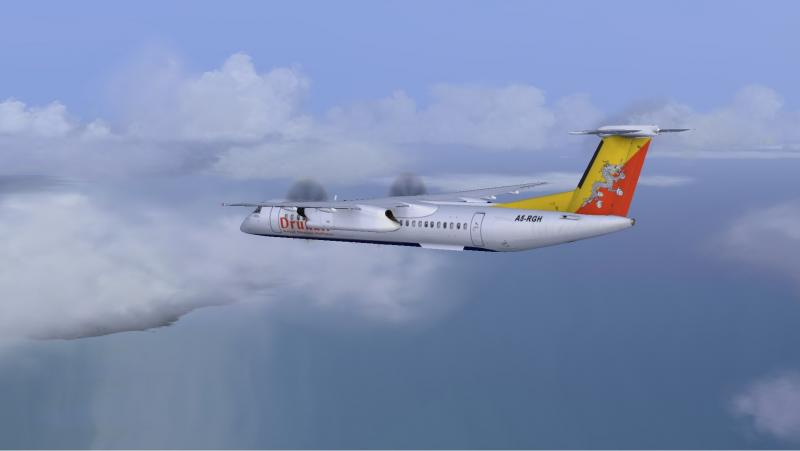 JP - 25 legs with the Majestic Q400 - Diaries - AEROSOFT