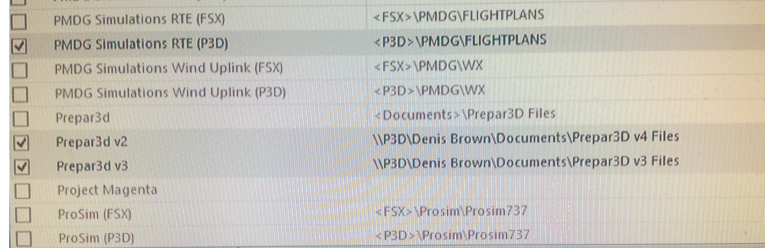 How to get PFPX to work with Flight Sim Labs A320X P3d v4 1? - PFPX
