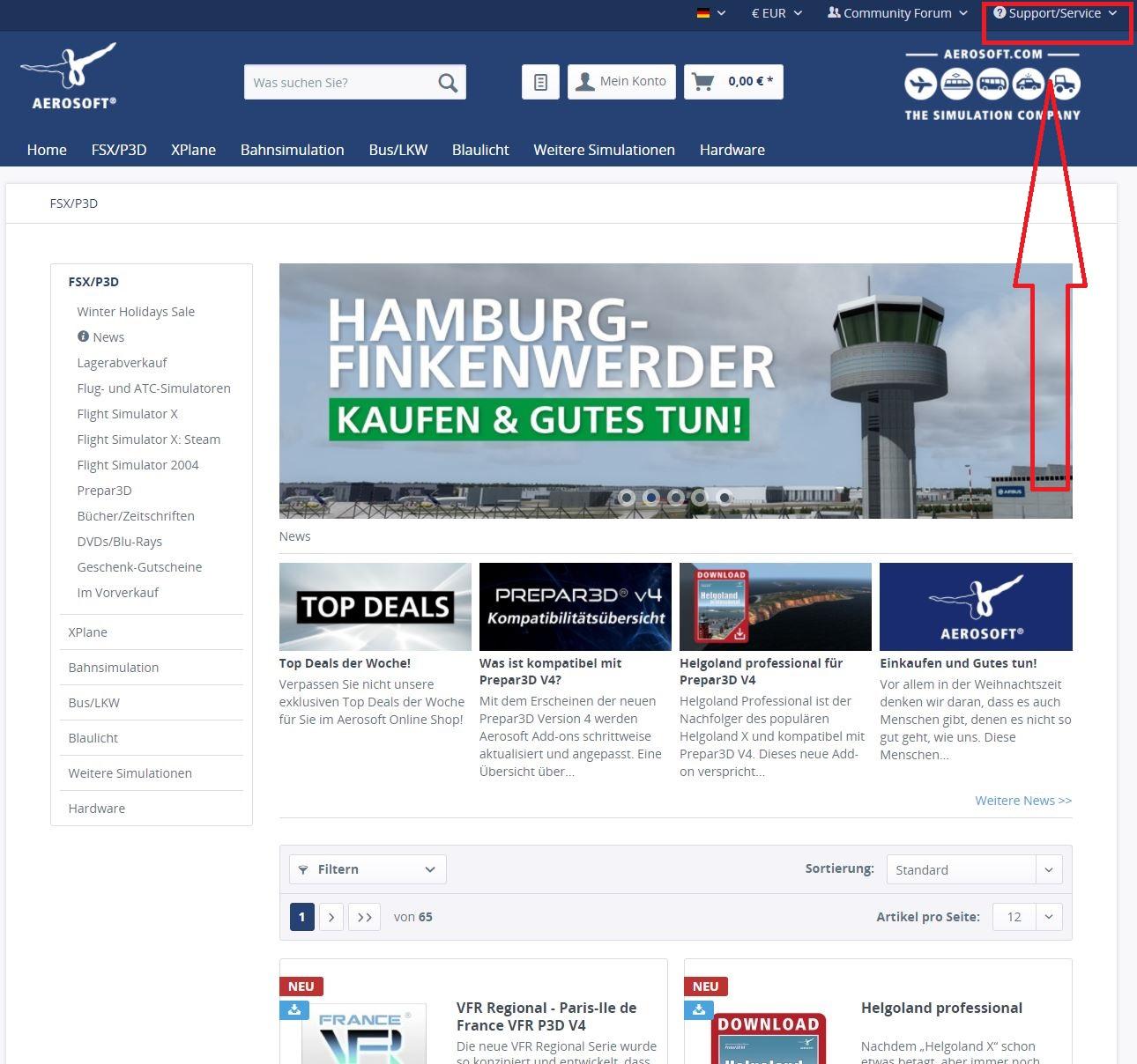 Fly Tampa Vienna - Aerosoft Mega Airports - AEROSOFT COMMUNITY SERVICES
