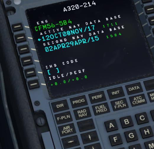 nav data update mcdu - MCDU (Left side) - AEROSOFT COMMUNITY SERVICES