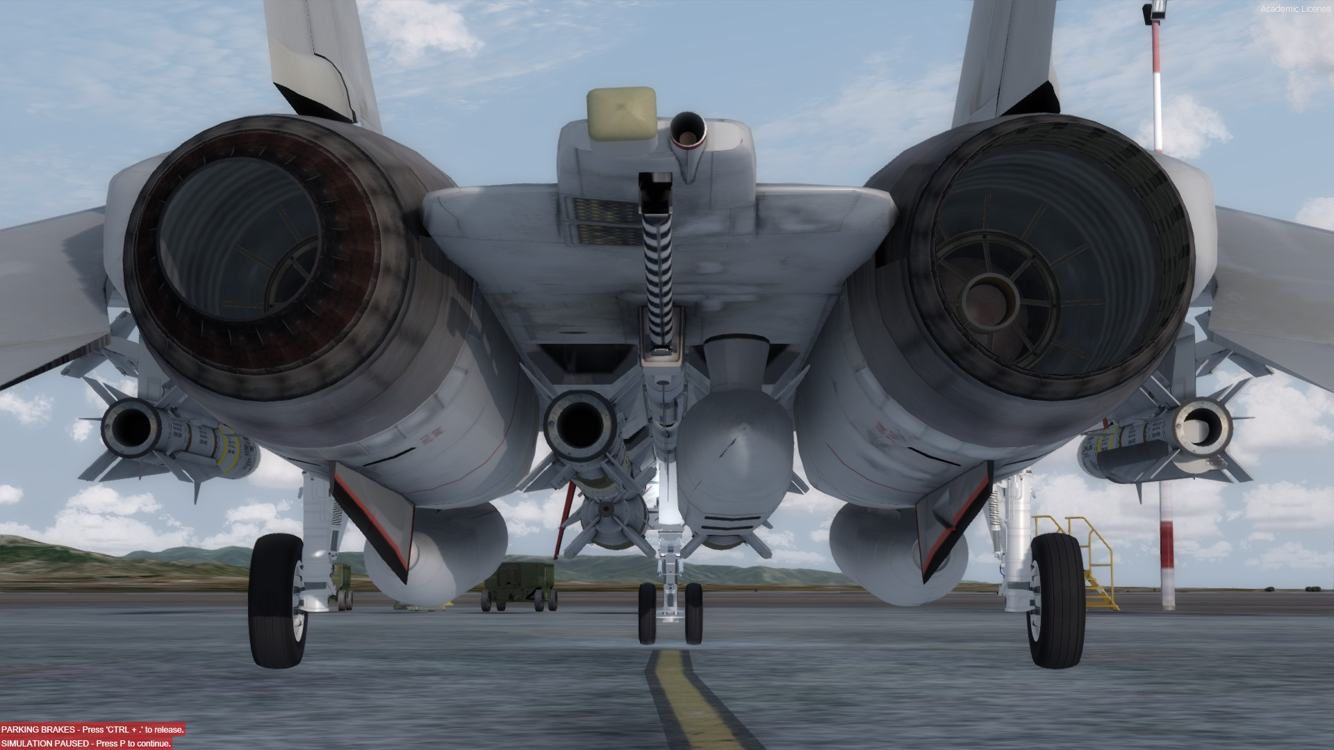F-14 Weapons configurator / SimConnect issue in P3D V4 - F