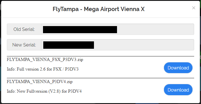 FlyTampa Vienna v2 70 for FSX not available? - Aerosoft