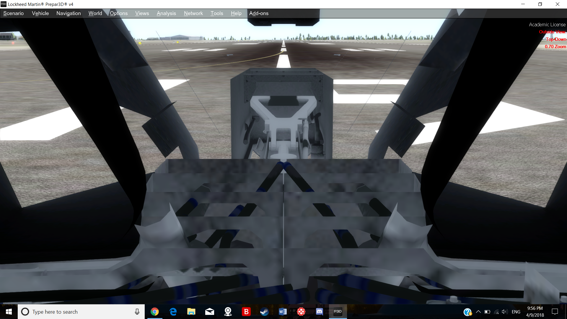 P3d v4 top-down view problem - General information (no support