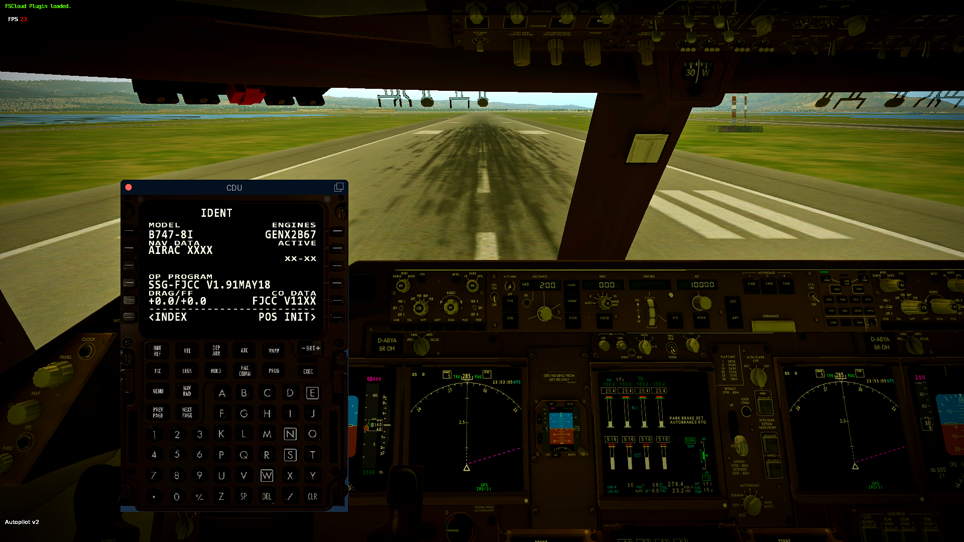 SSG Boeing 747-8i Navdata Issue - Aircraft General