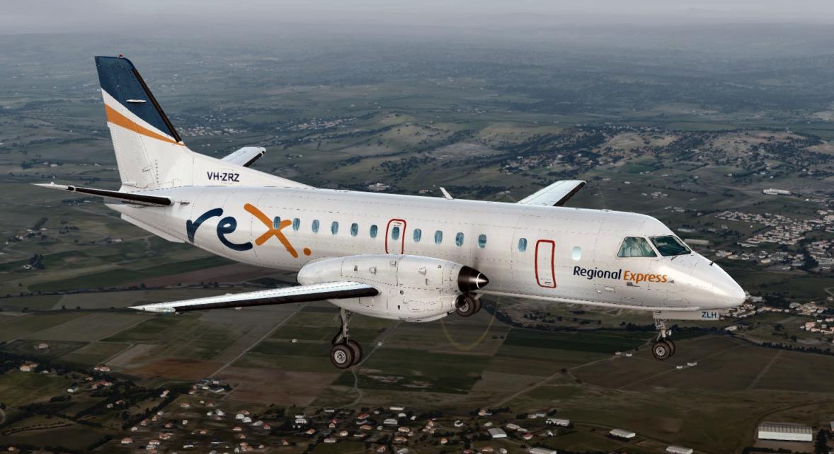 Carenado SF340 REX Airlines twin pack - Carenado Repaints