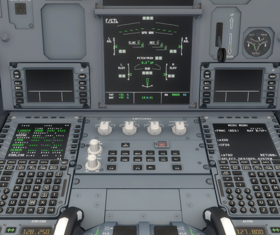 pitch trim - Step by Step guide / Checklists - AEROSOFT
