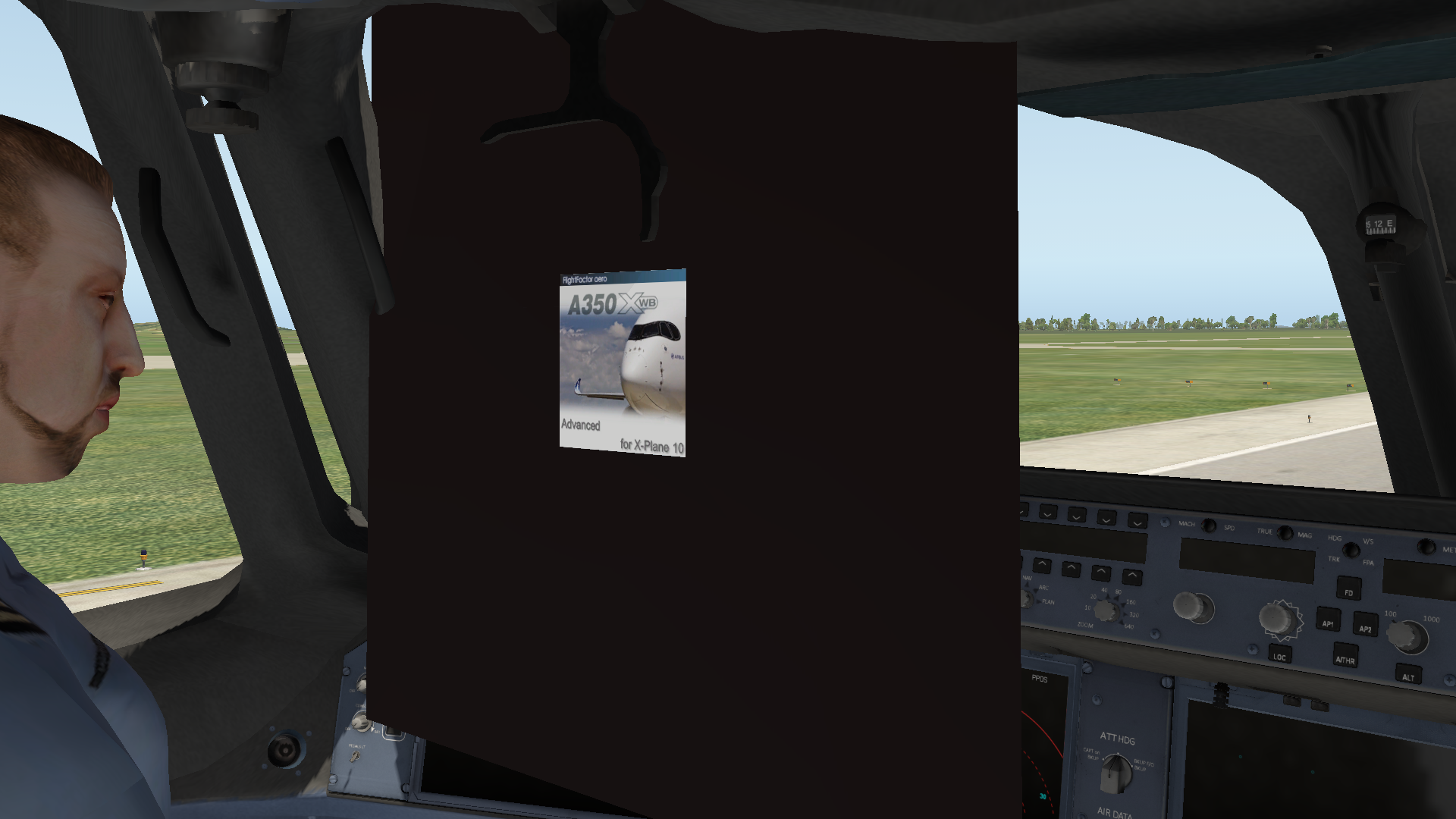 how to remove this (A350) - FlightFactor B777 / B757 / B767