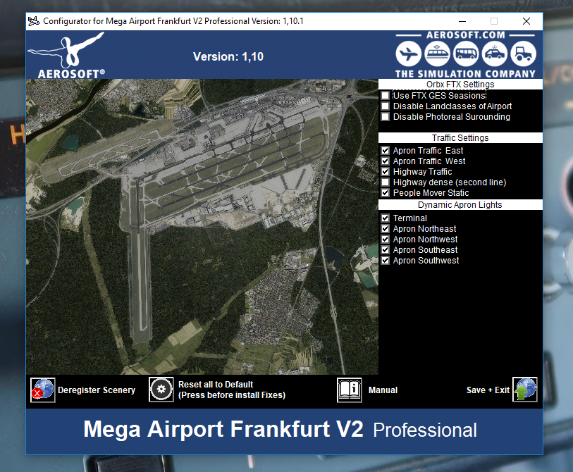 Mega Airport Frankfurt V2 Professional gates extremelty bright at
