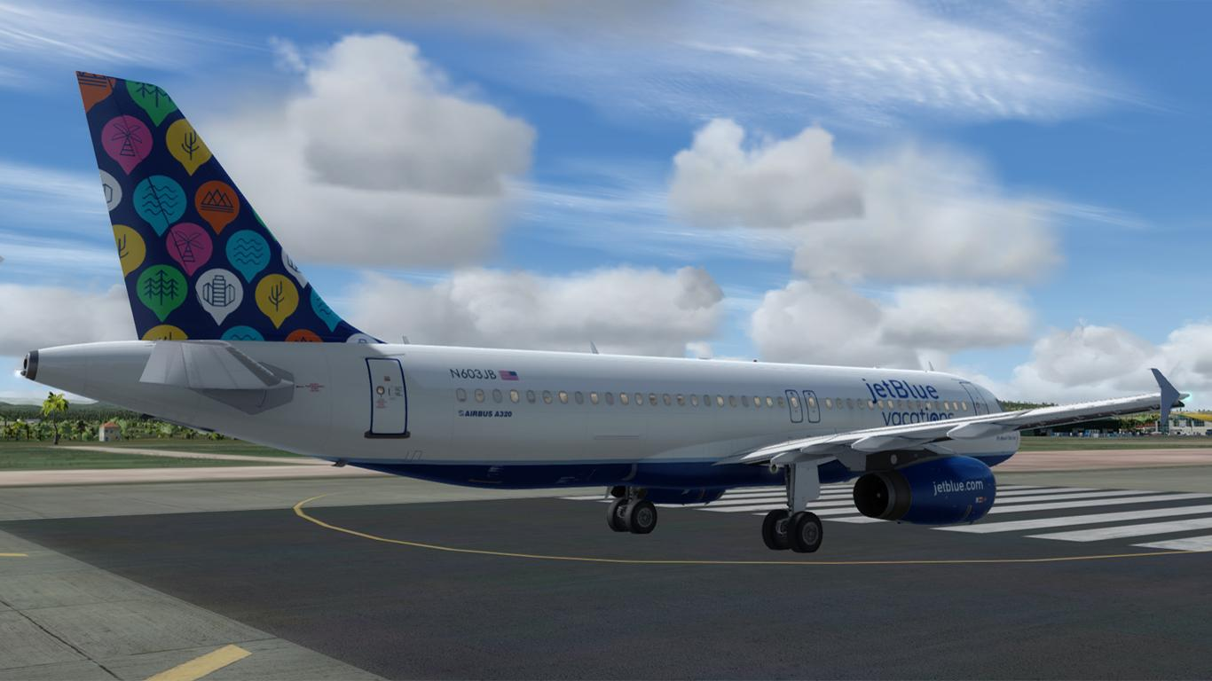 jetblue Vacation livery Airbus A320 Professional