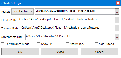 ReShade im X plane 11 - Andere Plugins - AEROSOFT COMMUNITY SERVICES