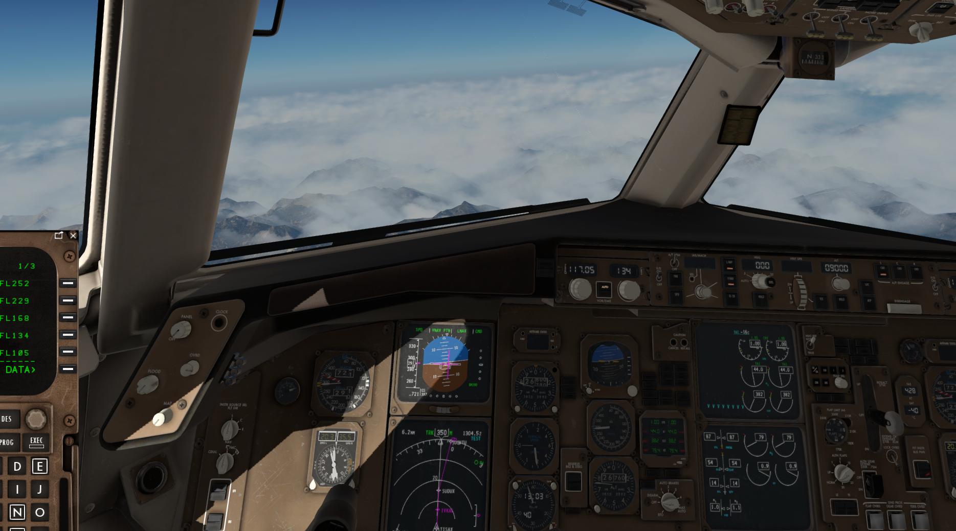 FF B767 FD reinitialisieren - FlightFactor B777, B757, A350, B767