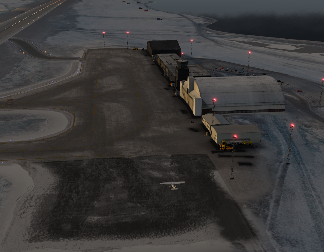 ENSB - Default objects on airport ? - Scenery General