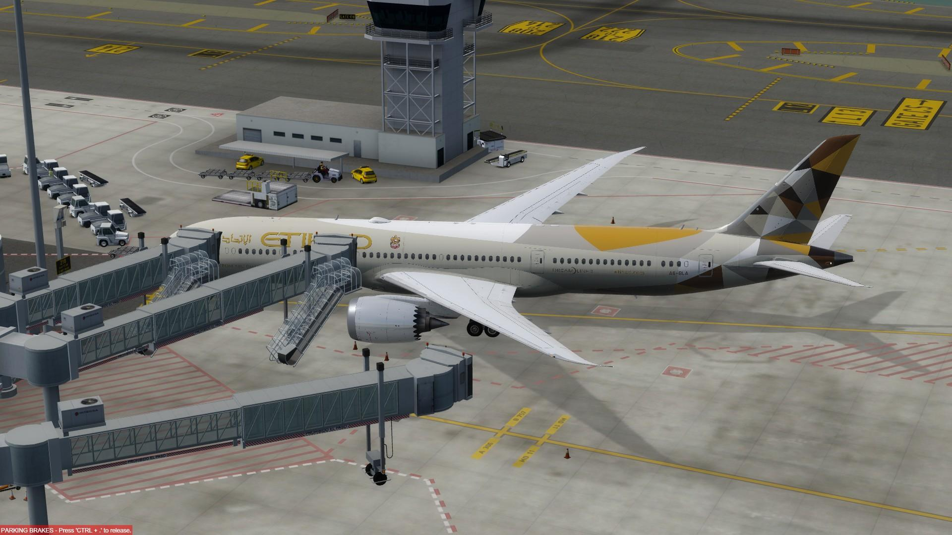 SODE jetways for Barcelona now available - Aerosoft Mega