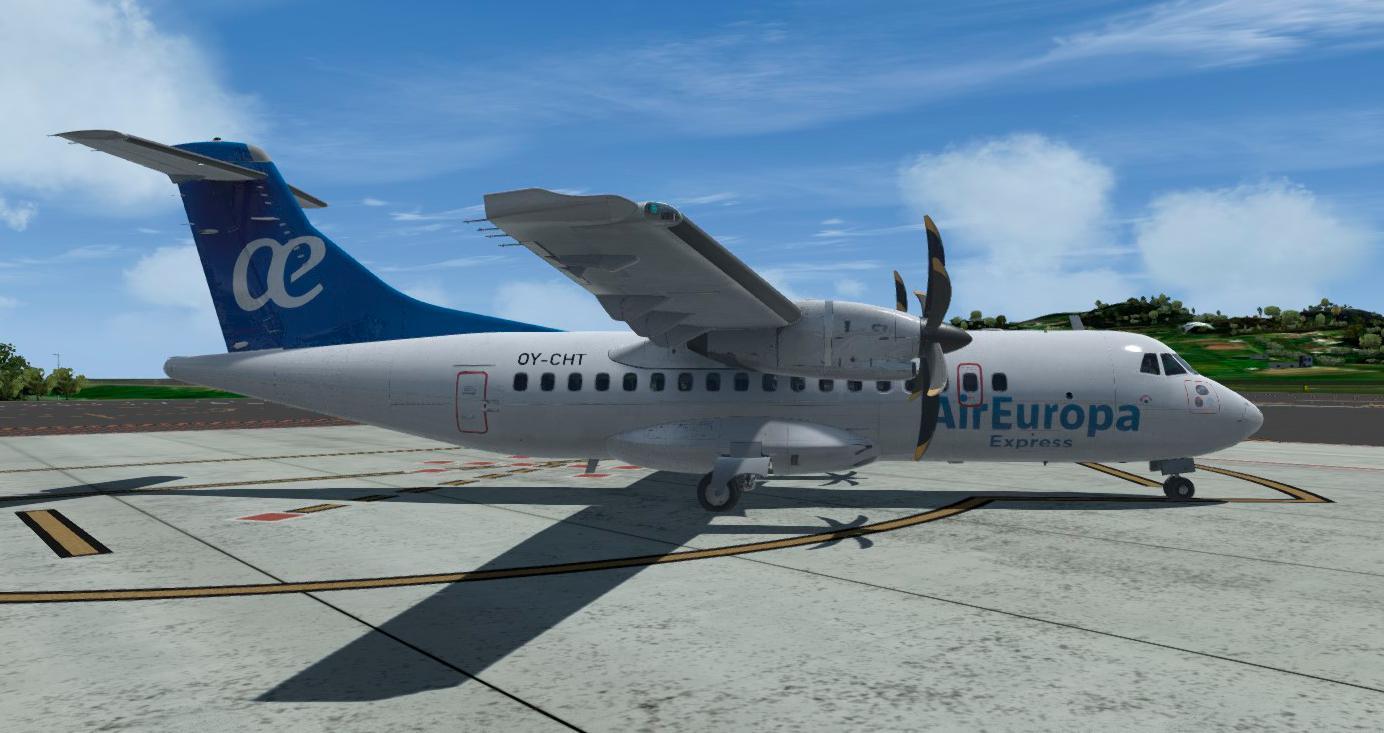 Carenado ATR 45 Air Europa Express - Carenado Repaints