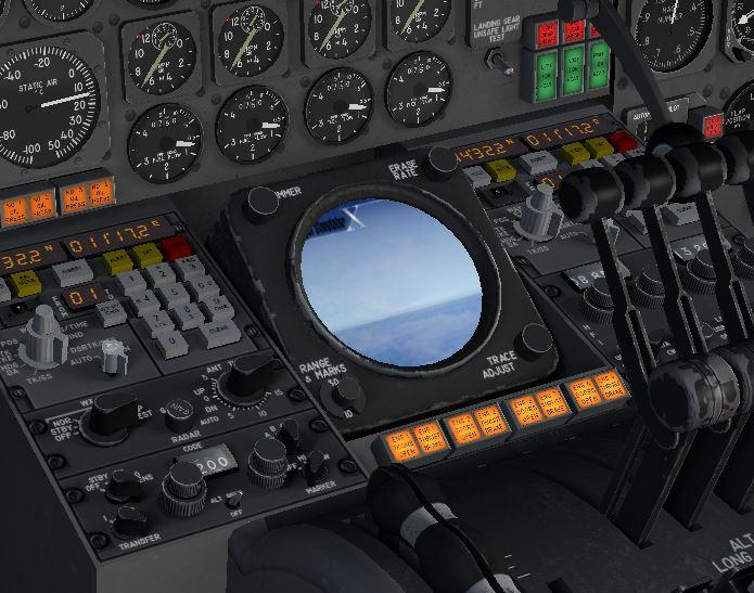 Terrain radar problem - Douglas DC-8 - AEROSOFT COMMUNITY