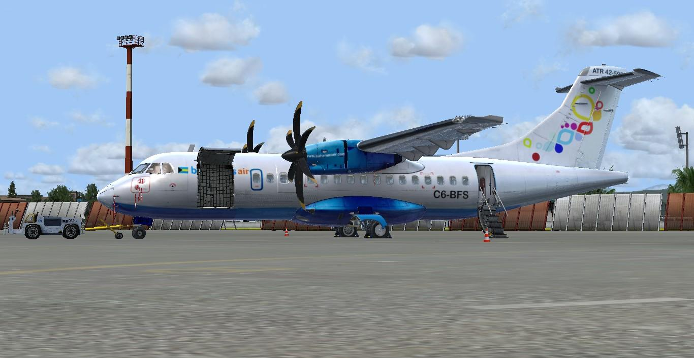 Bahamas Air ATR 42 C6-BFS - Carenado Repaints - AEROSOFT