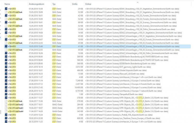 Suche des FT Alex in entspr. DSF-Dateien in Airports mit OE oder mit WED ohne Ergebnis.JPG