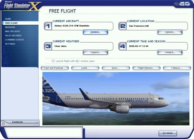 A320-214 CFM c-Sharlets Plane selected.png