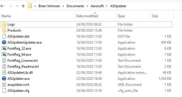 ASupdater my files.JPG