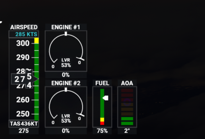Throttle on Jostick is at 0% the aircraft goes back to 51% not more..PNG